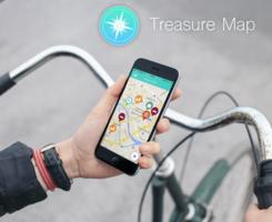 Logo Treasure Map - Explore special places